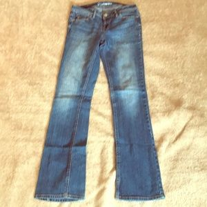 Chelsea boot cut size 2 reg Aeropostale jeans used